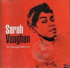 Sarah Vaughan.I'm Through With Love.cd