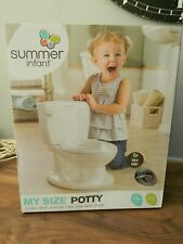 Summer Infant 11526 My Size Potty - White new and boxed