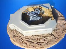 TSD-72053 1/72 2cm Flakbunker mit Diorama, befestigte Flakstellung - RESIN