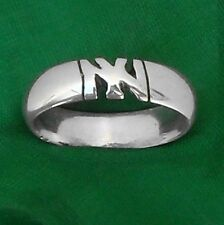NY YANKEES  STERLING SILVER Ring,ANY SIZE