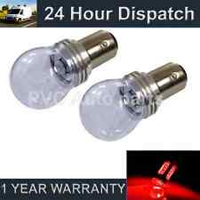 2X 380 BAY15D 1157 XENON RED 3 CREE LED STOP TAIL BRAKE LIGHT BULBS ST203202
