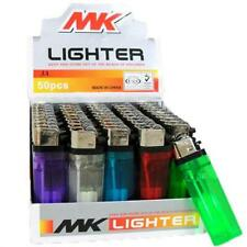 10 Mk Colored Butane Lighters Disposable 10 Cigarette Lighters Smoke