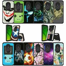 For Motorola Moto G7 Power / Moto G7 Supra Slim Dual Layer Case - Cool Designs