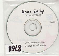 (GI810) Grace Emilys, Lipstick Blues - DJ CD