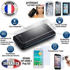 Protection Ecran Verre Trempé Contre les Chocs pour Alcatel One Touch Pop D3
