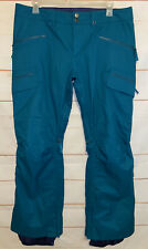 Men's BURTON DryRide Snow Ski Snowboard Winter Pants Green XL Extra Large GUC!!!