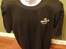 Becks DARK  Beer T-Shirt SIZE ADULT XL