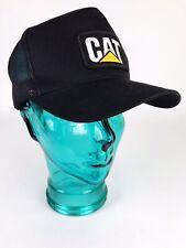 CAT Caterpillar Trucker Adjustable Cap with Patch Snapback Hat