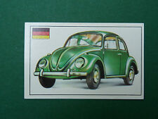N°177 VOLKSWAGEN 119 ALLEMAGNE GERMANY PANINI 1972 HISTOIRE DE L'AUTOMOBILE