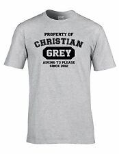 FUNNY Property of Christian Grey fifty shades of Christain Grey T-Shirt