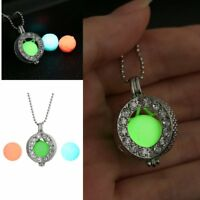 Charm Glow In The Dark Heart Pendant Necklace Luminous Women Jewelry Party Gift