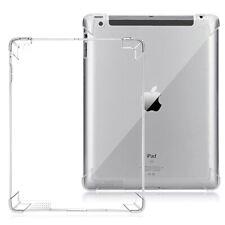 Fit iPad 2 3 4 Clear Case Soft TPU Gel Silicone Bumper Case Back Skin Protective