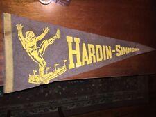 Hardin-Simmons University _RARE_ 1930's Pennant College Cowboys Texas 12x30