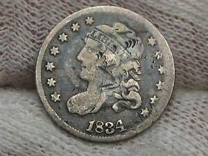 1834 Bust Half Dime. #46
