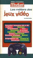 Livre de poche  les métiers des jeux vidéos Jean-Michel Oullion  book