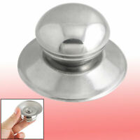 Kitchen Replacement Metal 4cm Knob Dia Pot Kettle Lid Knob Silver Tone