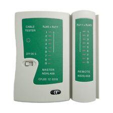 Network Cable Remote Test Tester Tool RJ11 RJ12 RJ45 CAT5 UTP USB Lan