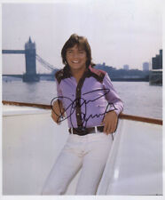 David Cassidy SIGNED Photo 1st Generation PRINT + Certificate / 2