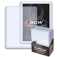 100 BCW Brand 3 x 4 Topload Premium Card Storage Holders