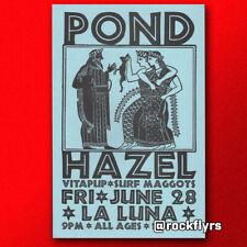 Pond 1996 Original 11x17 Promo Concert Street Poster. Portland Oregon. Nm/M