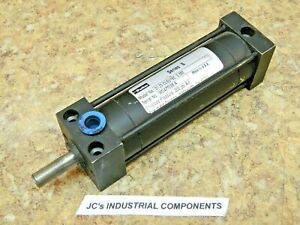 """Parker   1-1/4"""" bore  X  2-1/2"""" stroke    pneumatic cylinder  series S"""