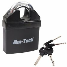 More details for 6 x heavy duty 65mm insulated keyed padlock high security waterproof quality