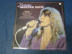 RECORD ALBUM SKEETER DAVIS 20 OF THE BEST 4293