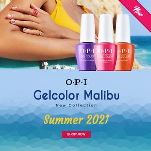 "OPI GELCOLOR  "" NOUVELLE COLLECTION MALIBU ETE 2021 "" 15 ML /GEL POLISH"