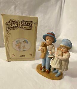 "Vintage JAN HAGARA Figurine ""BETSY AND JIMMY"" © 1982 LkNew w/Box"