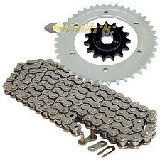 Drive Chain & Sprockets Kit Fits SUZUKI DR650SE 1996-2017