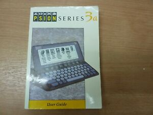 Psion 3a user manual pda