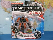 Transformers Dark of The Moon Human Alliance Thunderhead & Major Tungsten