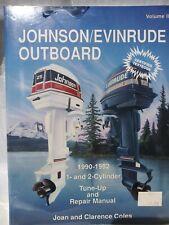 Johnson/Evinrude Outboard Repair Manual 1990-1992