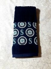 Seattle Mariners Hand towel Handmade Great for golf bags, gym bags, bars etc.