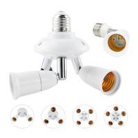 1/2/3/4/5 in 1 Light Socket Splitter LED Bulb Standard E27 Adapter Converter CE