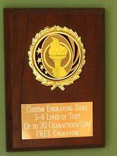 Retirement/Employee/Appreciation Award Plaque 4x6 Trophy FREE engraving