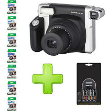 Fujifilm Instax 300 Wide + 4 x AA Rechargeable Batteries + Charger and 70 Film