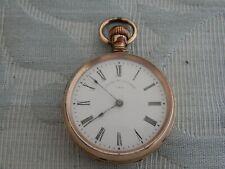 Original American Watch Co, Waltham, G/F Stem winding fob pocket watch, estate