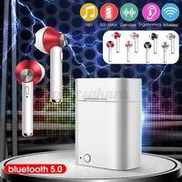 TWS Kopfhörer bluetooth 5.0 In-Ear Ohrhörer Kabellos Stereo Headsets mit Ladebox