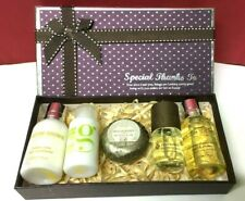 MOLTON BROWN GIFT SET 5 ITEMS BODY WASH CONDITIONER SOAP BODY OIL SEE DETAILS