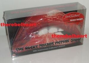 ROCKY HORROR 2006 UK Limited Edition 30th Anniversary DVD Lips Box Set - SEALED