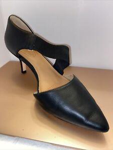 CC Corso Como Women's Denice Pump, Black Leather, 7M US Shoes. New
