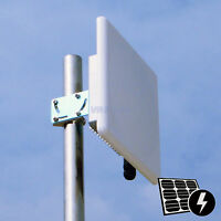 Pluto_R5820AN long range 5ghz 300mBps Wireless Outdoor AP Bridge 2*20dBi Antenna