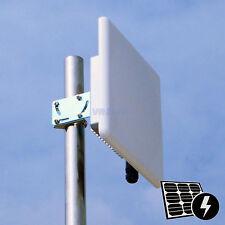 Pluto_R5820AN long range 5ghz 300mBps Wireless Outdoor AP Bridge 2*20dBi Antenna