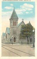 Carlisle Pennsylvania~Allison Methodist Episcopal Church~1920s Postcard