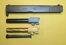 Glock G19 complete Rmr cut slide with 2 barrels