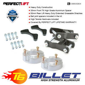 """Fits Isuzu DMAX LIFT KIT3""""F & 2""""R greasable shackles and ball joint spacers 4wd"""