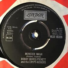 "BOBBY PICKETT & THE CRYPT KICKERS Monster Mash London UK 1962   Beat 7"""