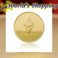 Gold Ethereum Coin - Crypto Collectors Coin