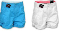 NEW GIRLS SUMMER SHORTS MULTI PACK WHITE OR TEAL MATCH SIZES 8-16 YRS